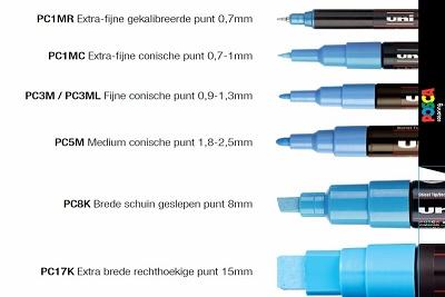Posca PCF-350 brush
