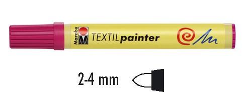 Textielstift 2-4mm