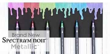 Spectrum Noir Metallics sets