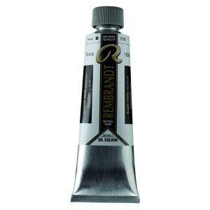 Rembrandt olieverf tube 150ml Titaanwit (lijnolie)