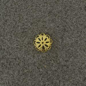 Kralenkapje gold 12mm