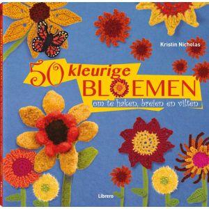50 kleurige bloemen