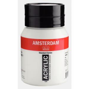 Amsterdam acrylverf standard 104 zinkwit