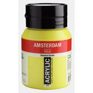 Amsterdam acrylverf standard 500ml 243 groengeel