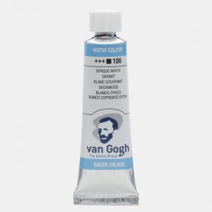 Van Gogh aquarelverf  tube 10ml 106 wit extra dekkend  20011061