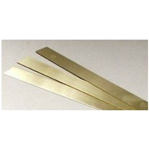 Messing strip 25,0x0,4mm
