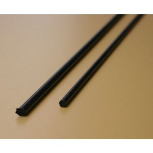 Koolstof Exel 3,0mm - vol, lengte 100cm