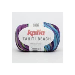 Tahiti Beach kleur 308 paars/blauw/groen