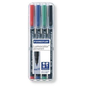 Set Staedtler Lumocolor permanent M Box 4st 1mm