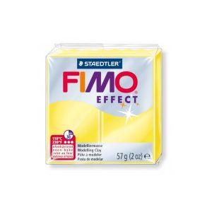 Fimo Effect nr. 104 transparant geel