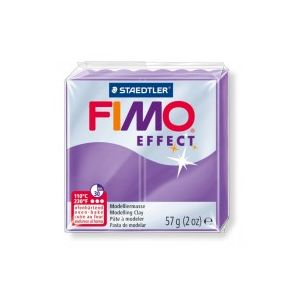 Fimo Effect nr. 604 transparant paars