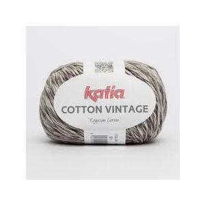 Cotton Vintage kleur 51 grijstinten