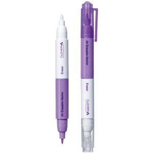 Clover 5032 Fine Erasable Marker with Eraser droogt aan de lucht of met water