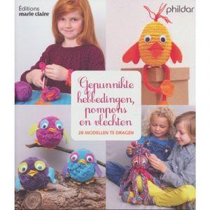 Boek Marie Claire éditions Gepunnikte hebbedingetjes, pompons en vlechten