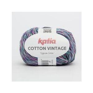 Cotton Vintage kleur 54 paars/groen