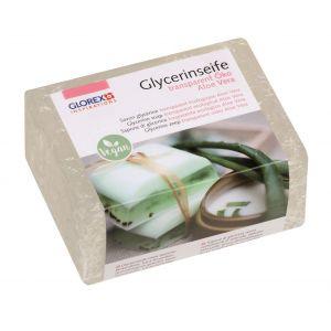 Glycerine zeep transparant Aloe Vera 500 gram