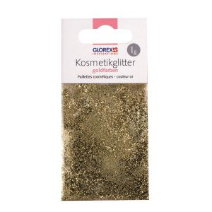 Glitter voor zeep Goud 1 gram