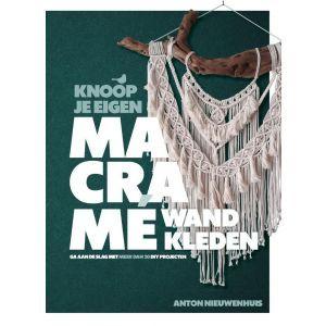 Boek Knoop je eigen macrame Anton Nieuwenhuis