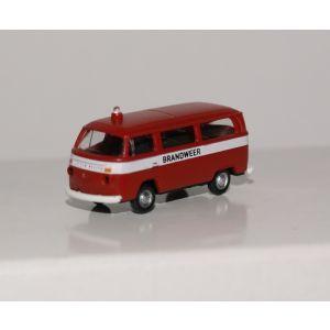 VW T2 Brandweer miniatuur