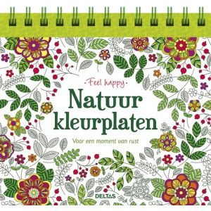 Feel happy, Natuurkleurplaten