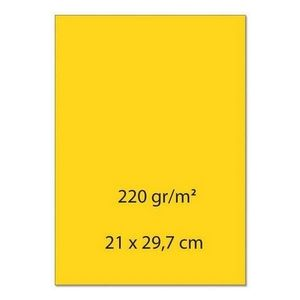 A4 papier 0247 Goudgeel