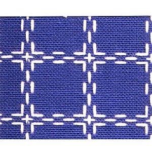 Beiersbont 5421 blauw/wit