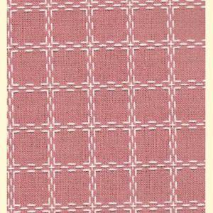 Beiersbont 5430 oud rose/wit