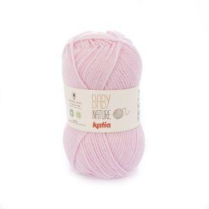 Katia Baby Natur kleur 105 roze 25 gram