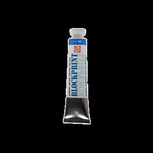 Blokprint waterverf 501 Lichtblauw
