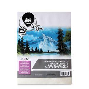 Bob Ross Afscheurpalet/ Disposable Palette 50 vel 30x40cm