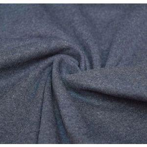 Oaki doki boordstof uni tricot denim 15x70cm