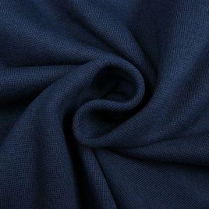 Oaki doki boordstof uni tricot donkerblauw 15x70cm