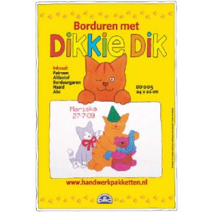 Borduurpakket Dikkie Dik DD005 feest