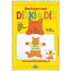 Borduurpakket Dikkie Dik DD006 met trui