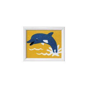 Borduurstramien dolfijn