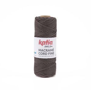 Katia Macramé Cord fine kleur 204 Bleekbruin