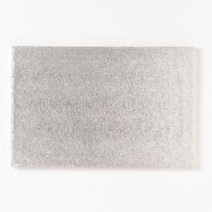 Cake Board rechthoek 4mm dik zilver 35x25cm