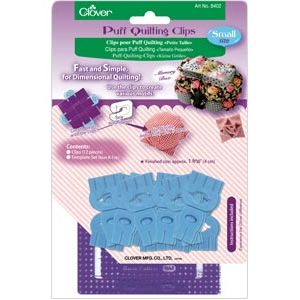 Clover puff quilting clips small