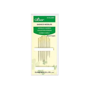 Clover Sashico needles set of 4 types