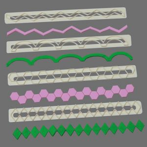 FMM Straight Frill Cutters no. 5