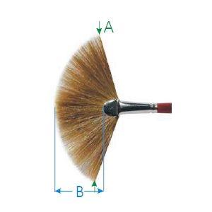 Da Vinci penseel serie 406 nr. 01