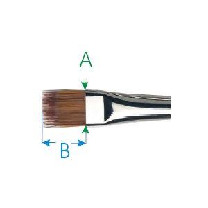 Da Vinci penseel nr. 20