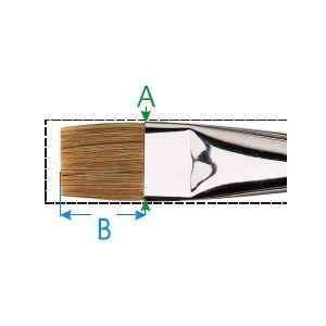 Da Vinci penseel nr. 02