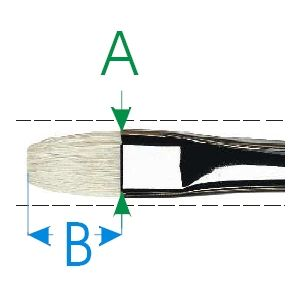 Da Vinci penseel nr. 11