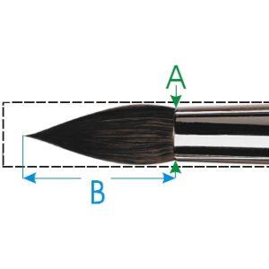 Da Vinci penseel nr. 12