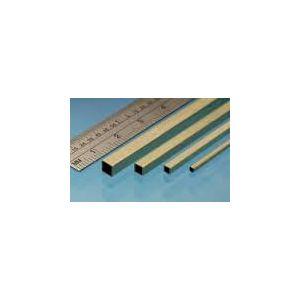 Messing vierkante buis 6,35x6,35mm