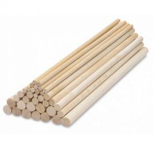 PME Bamboo Dowel Rods 30cm, 12st