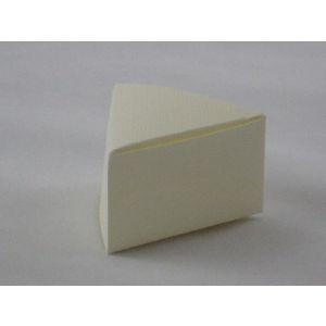 Driehoek seta avor, wit