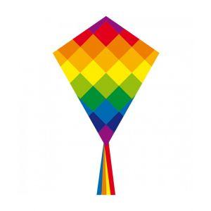 Kinder vlieger ecoline kids rainbow 70cm
