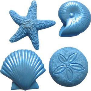 FI Mold Assorted Sea Creatures set/4